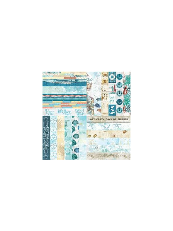 Sweet Summer by Katie Pertiet Border Strips