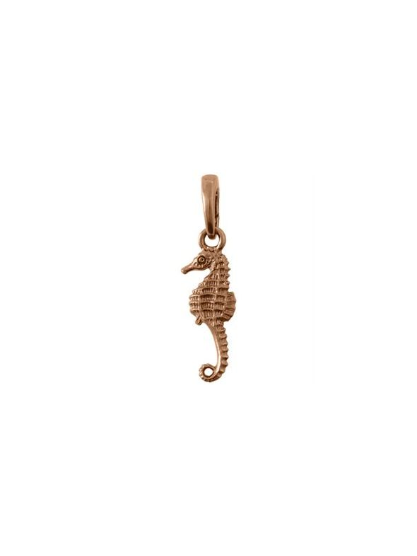 Rose Gold Seahorse Droplet