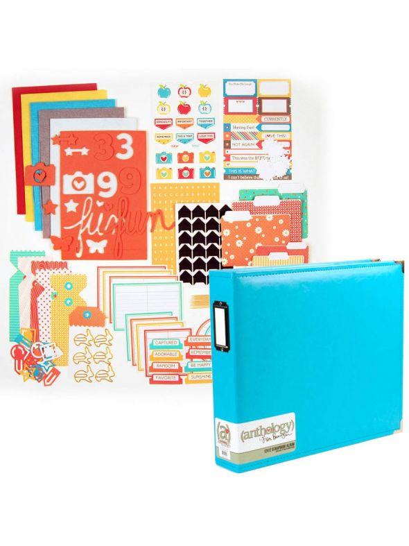 September Embellishment Kit Album Bundle